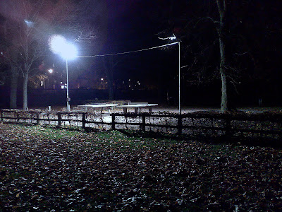 floodlights, table tennis