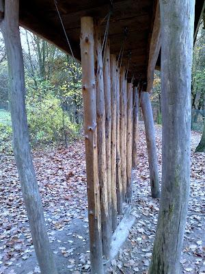 logs, wildpark