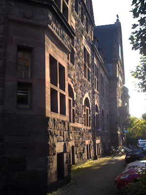 rathaus, red sandstone,