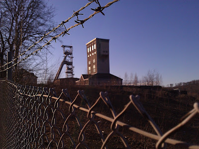 colliery, fence,