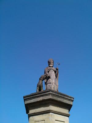 statue, fountain,