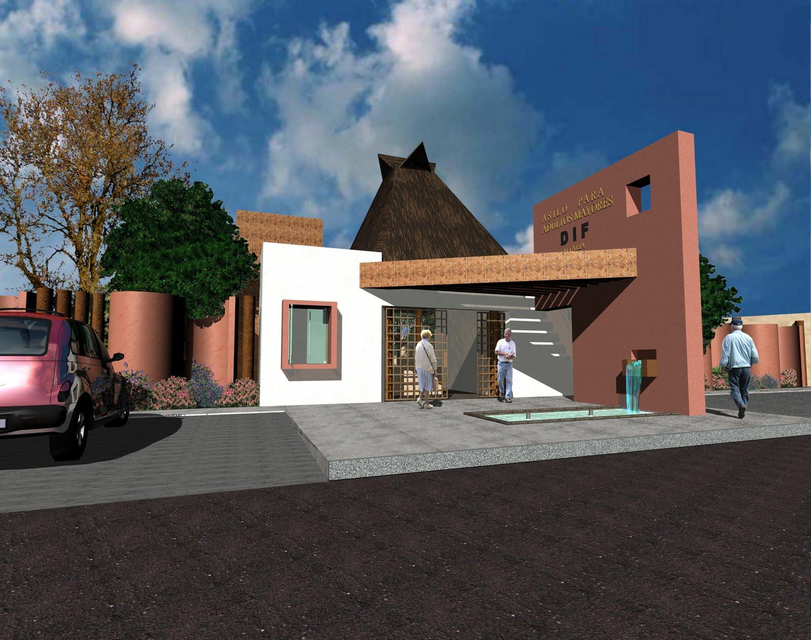 Arq enrique navarro proyecto para el asilo de ancianos for Asilos para ancianos
