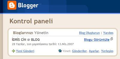Türkçe Blogger