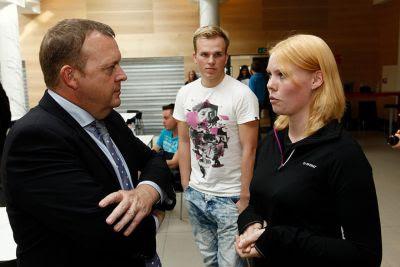 Lars Løkke keder sig