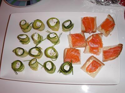 Mes fiches cuisines amuse bouche rouleaux de courgette - Livre de cuisine gordon ramsay ...