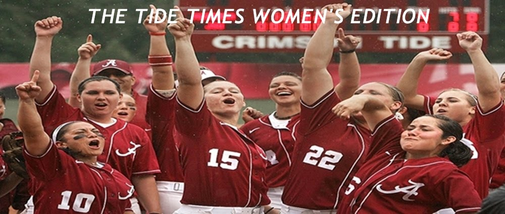 THE TIDE TIMES WOMENS EDITION- COVERING ALL ALABAMA CRIMSON TIDE WOMENS SPORTS AT UA_...