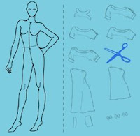 Project Runway Croquis