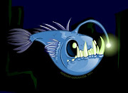 Well, a couple years ago I did a painting of an angler fish for a Power In .