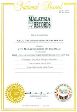 First Locally-Manufactured Certified Gold 18 Okt 2008