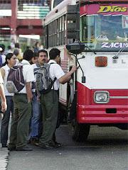 Usuarios del transporte público