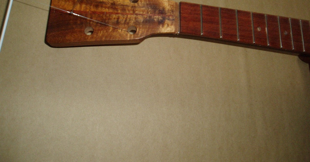 Honda ukuleles finishing with tru oil do not rush this process