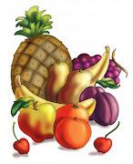 . de frutas y verduras talladas con representaciones mitológicas img