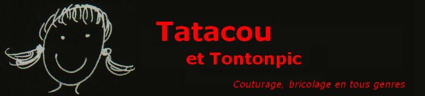 Tatacou et Tontonpic : Couturage, bricolage en tous genres
