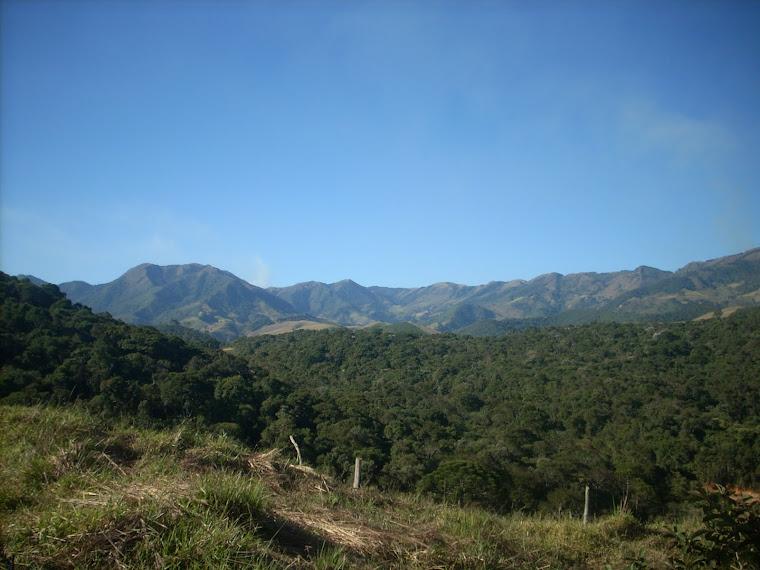 Vista da Serra da Bocaina