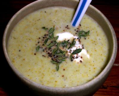 Kahakai Kitchen: Cold & Creamy Lemon-Broccoli Soup and Chicken Salad ...