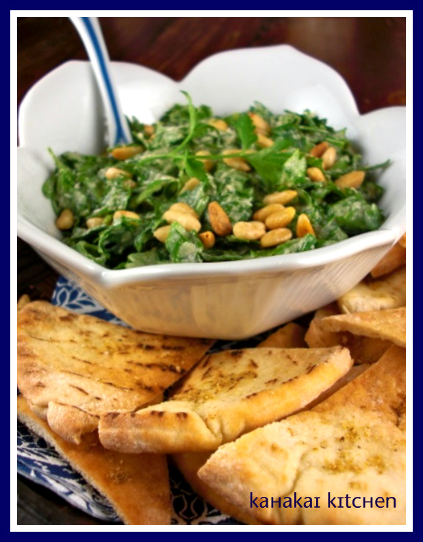 Greek Parsley Salad With Homemade Tahini Recipe