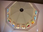 """Vista Interior de la Cùpula o Linterna de la Catedral de Los Teques-Estado Miranda"