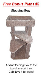 Free Cat Tree Plans: Sleeping Box