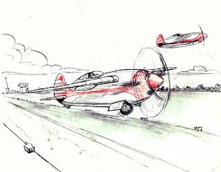 1940's, by Arthur, Civilian/Military, Ireland, WW2@drawnpatrol