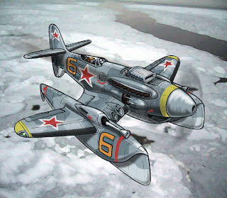 by Arthur, Military, Russia, Sea Plane 1950's, WW2@drawnpatrol