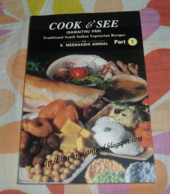 Basics of blogging and cookbook reviews cook and see samaithu par cook and see samaithu par part 1 by meenakshi ammal forumfinder Choice Image
