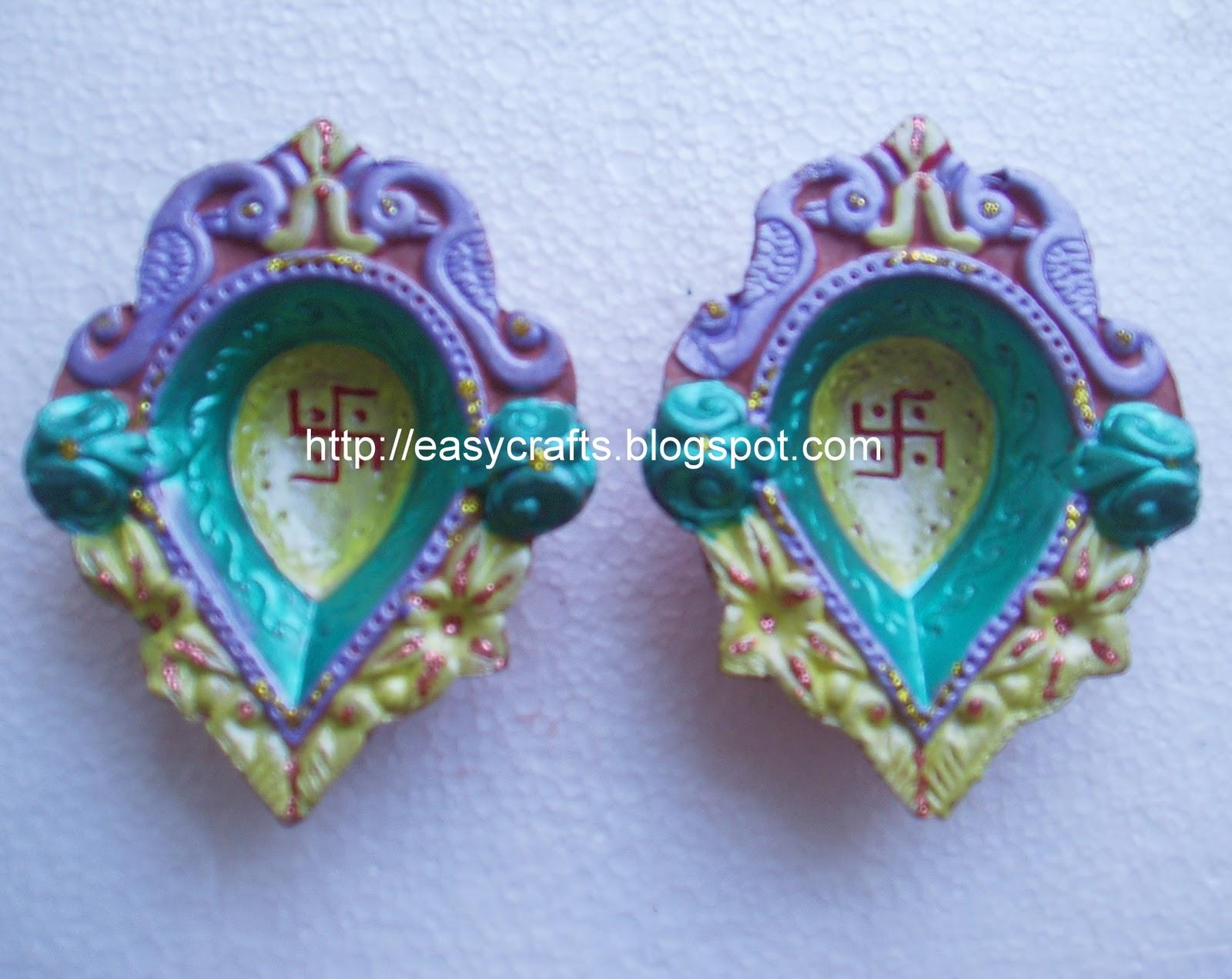 Easy crafts explore your creativity december 2010 for Arathi thattu decoration