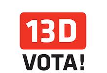 13-D Vota!