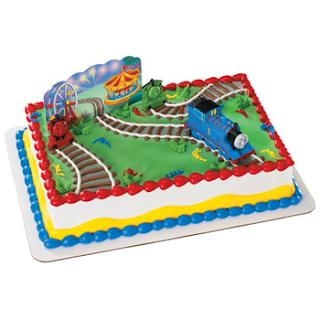 Thomas Cake Decorating Kit : Cupcake Decorations