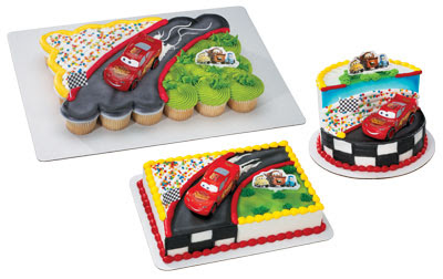 Cupcake Decorations Lightning McQueen