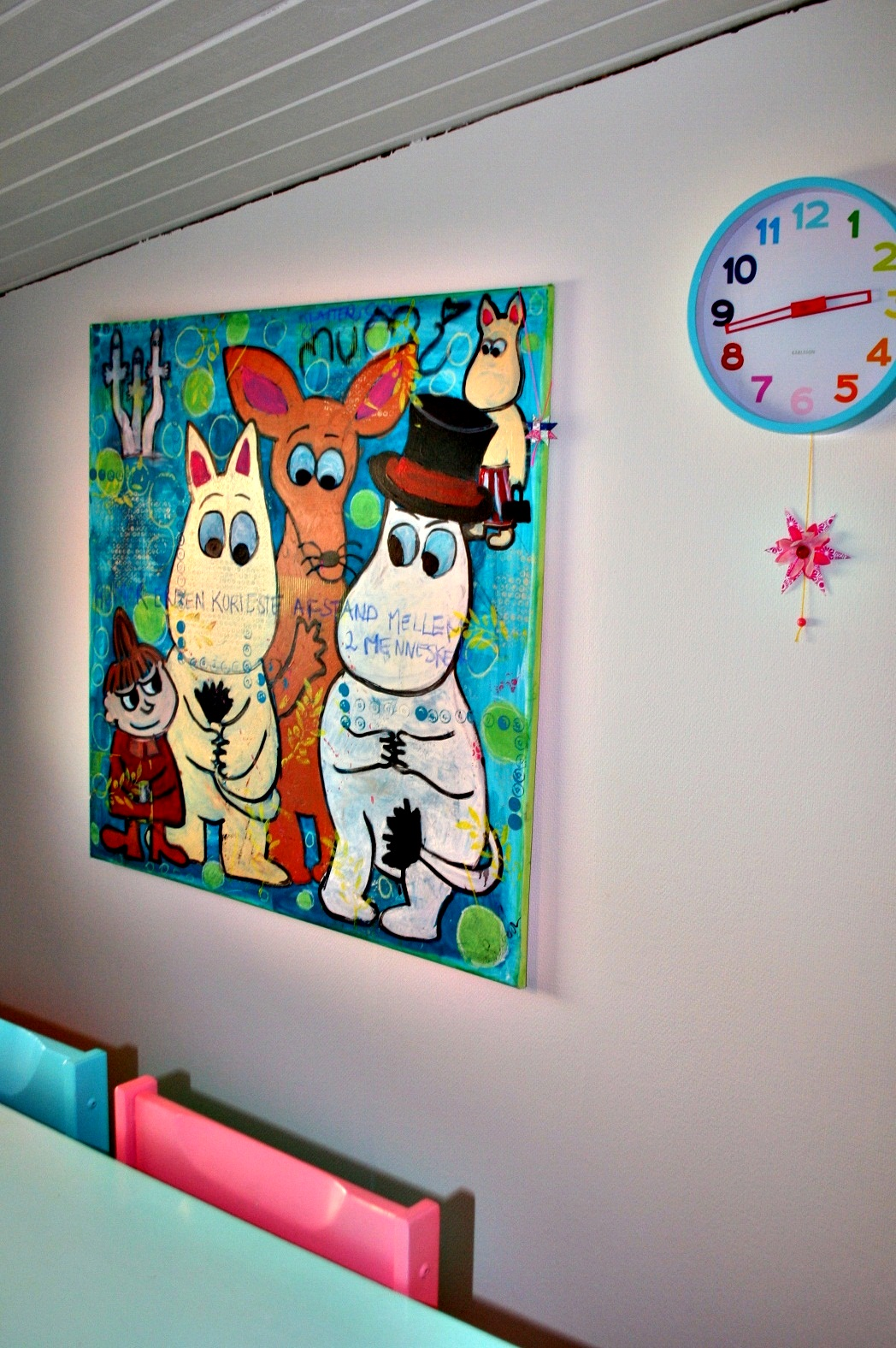KrudtuglensMor: Malerierne i huset!
