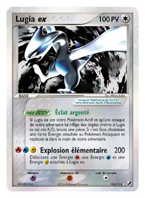 Pokemon - Carte pokemon legendaire ex ...