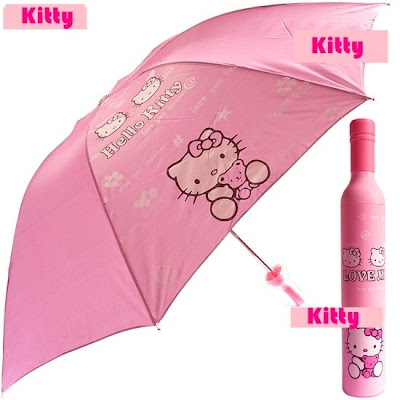 Hello Kitty umbrella. Code: 0642. Retail Price: RM30