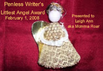 Penless Writer Angel Award