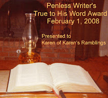 Penless Writer True to His Word Award