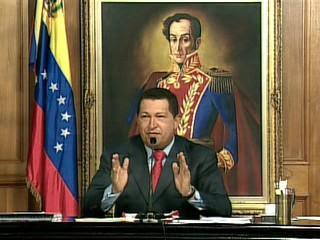 Hugo Chavez le 30 décembre 2009 au palais Miraflores de Caracas
