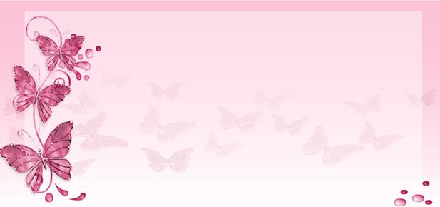 Fondos para tarjetas de 15 años con flores y mariposas - Imagui