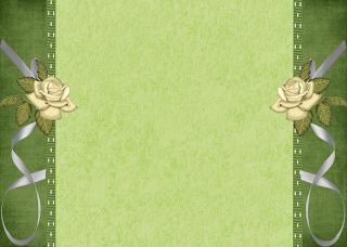 Fondo Verde Rosa