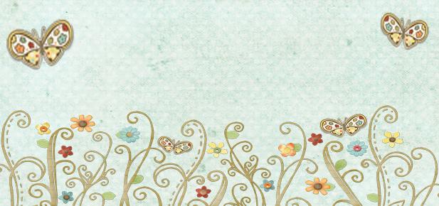 Fondos para Blog Isabella: Cabecera y Fondo Mariposas