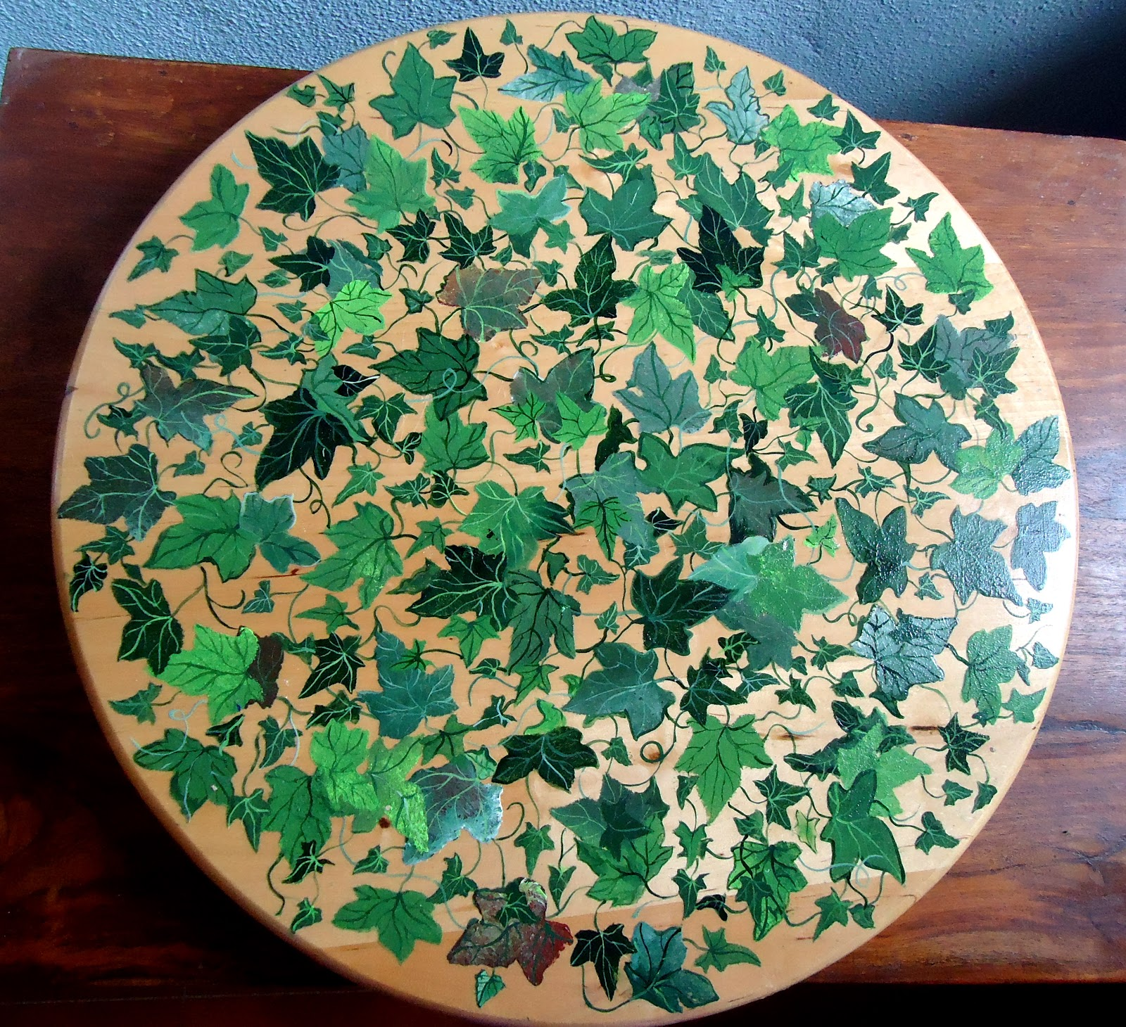 Le creazioni di gabi decorazioni piatti girevoli da for Decorazioni piatti