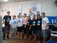 Equipe Alfaletra com a Secretária do Ensino Fundamental