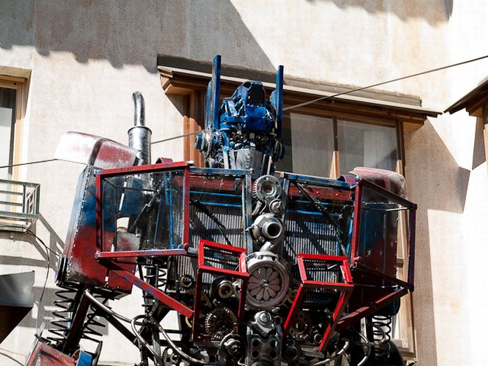 Optimus Prime do Paraguai