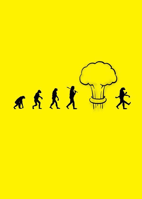 Perigos de uma nova bomba na evolução humana