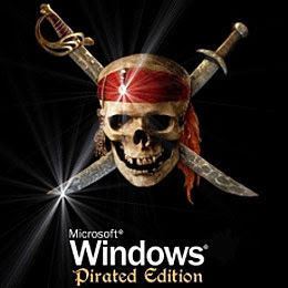 E quando o Windows pirata para de funcionar...