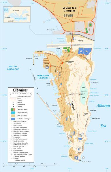 Aeroporto de Gibraltar: curioso e perigoso