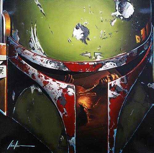 Quadros fotorealísticos de Star Wars