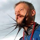 Concurso de barbas bizarras