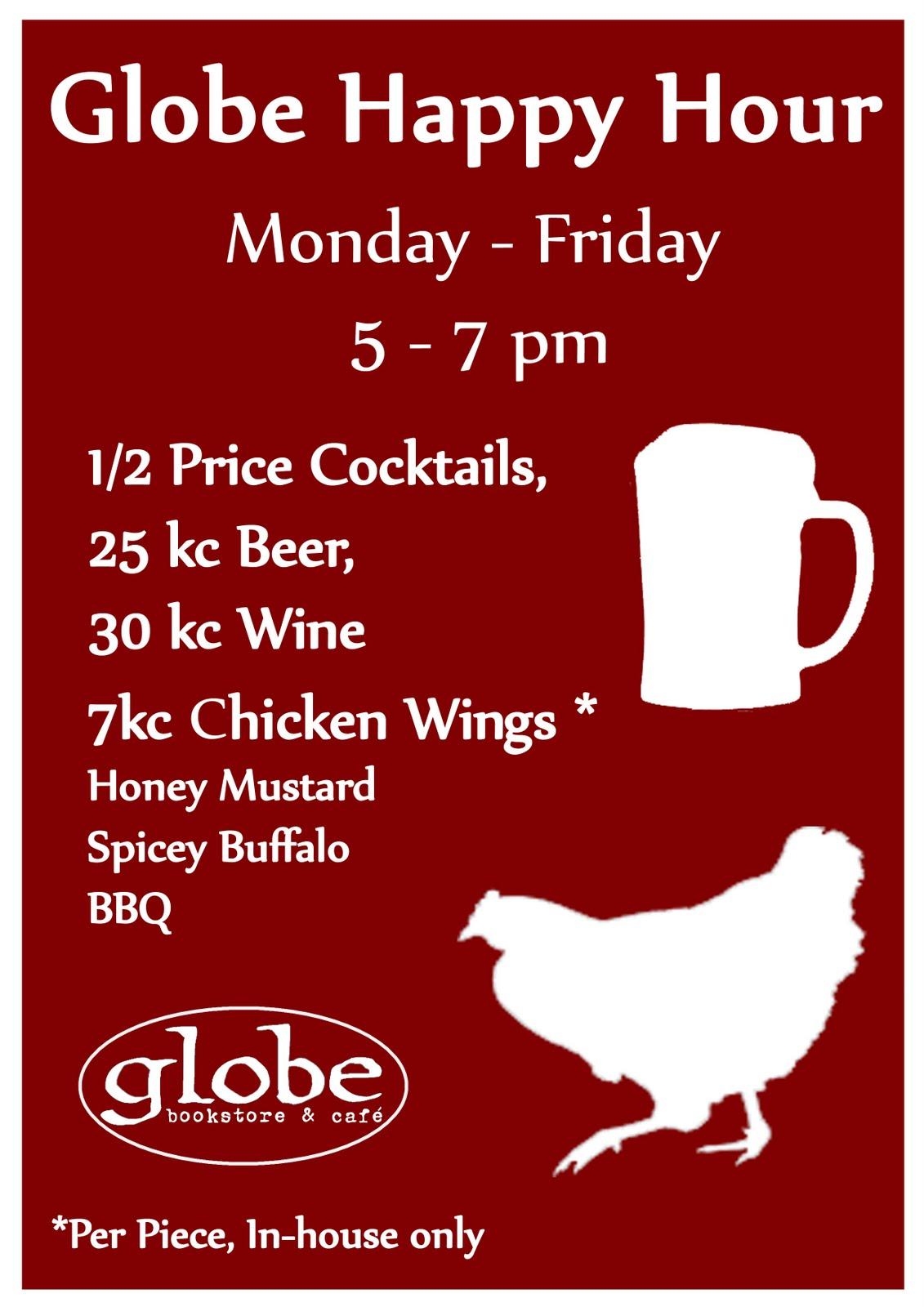 Globe Kitchen Announcements Best Happy Hour In Prague