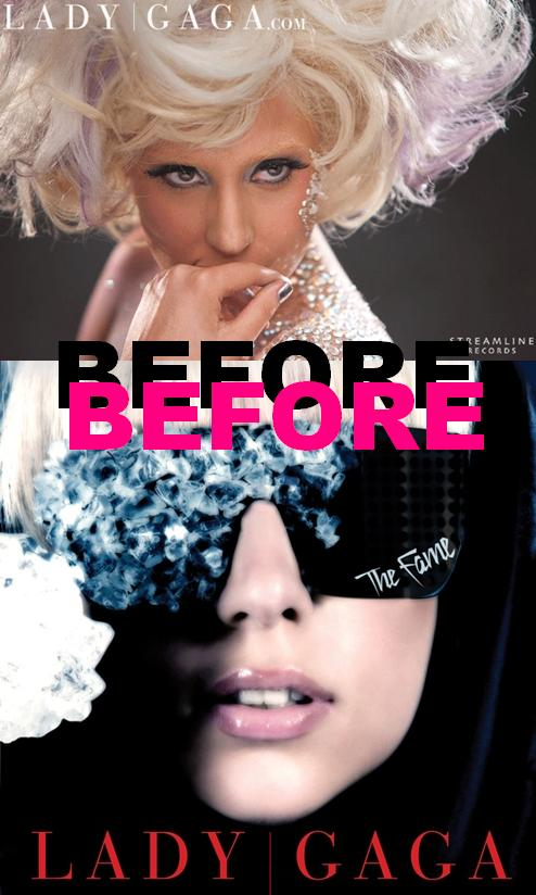 lady gaga before surgery and after. lady gaga nose efore and