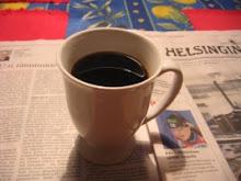 tots els matins, cafè i el diari