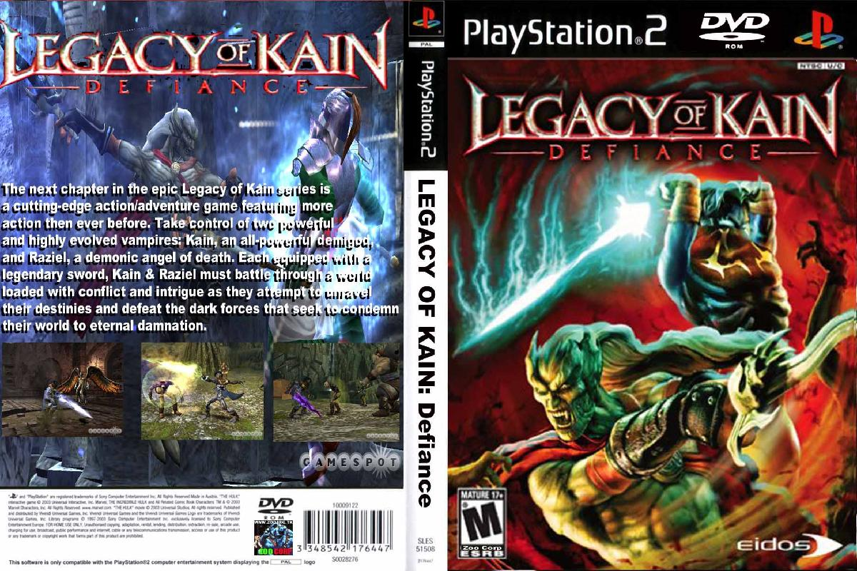 legacy of kain ps2